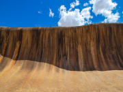 Discover the Wave Rock, a natural rock formation