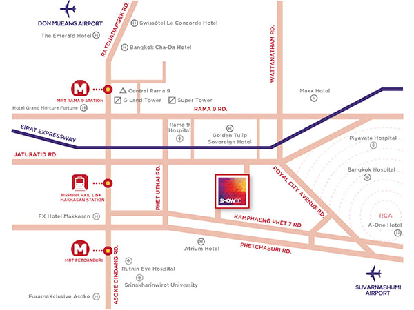 Show-DC-Map