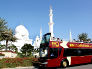 Bus in front of Grand Mosque 2