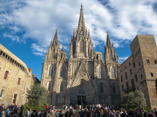 Spain, Barcelona, Barcelona Cathedral