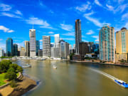 See the Brisbane skyline on your river cruise