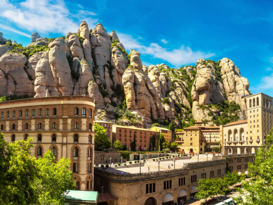 Carte Barcelone Montserrat.Montserrat And Winery Small Group Day Tour From Barcelona With Lunch