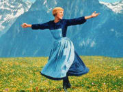 Sound of Music, julie andrews, baronin, maria
