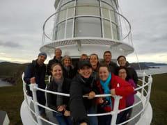 Cape Bruny Lighthouse balcony