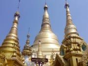ヤンゴンの象徴シェンダゴンパゴダ 02