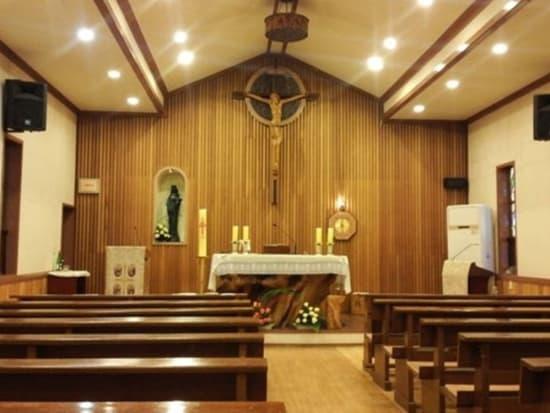 式を挙げた聖堂