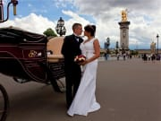 Wedding, Bride and Groom, Carriage Ride