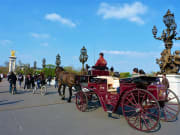 Pont Alexandre III, Horse, Carriage Ride