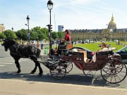 Les Invalides, Horse, Carriage Ride