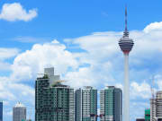 Kuala Lumpur Tower_Skyline bright day
