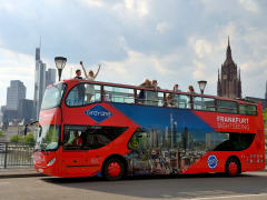 Germany, Frankfurt, hop-on hop-off