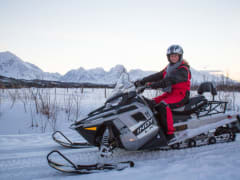 Snowmobile Tour on Lyngen Alps
