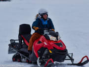 Lyngen Snowmobile Safari