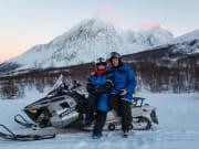 Lyngen Alp Snowmobile Experience Tromso