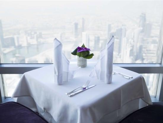 Dubai, At.Mosphere Restaurant, Dining