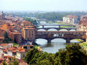 Arno river overlook