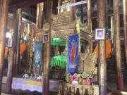 インレー湖 ガーベー僧院 僧院内