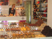 Sweets and chocolate boutique in El Born Quarter
