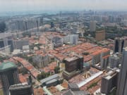 Singapore view from 1-Altitude Gallery