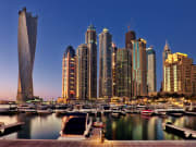 UAE_Dubai_Marina_Night