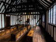 Shakespeare's Schoolroom & Guildhall_Tudor Schoolroom_landscape_Sara Beaumont photography