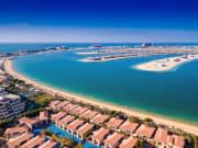 The Palm Jumeirah aerial view