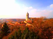 Spain, Girona, Skyline