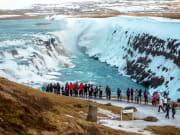Iceland Rekjavik, Gullfoss, Golden Waterfall