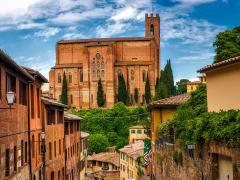 Italy Siena Basilica of San Domenico