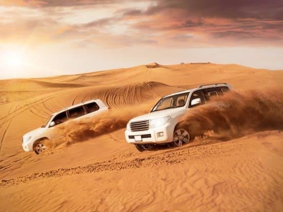 Private Dubai Desert Safari With Camel Ride And Barbecue Dinner
