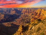 USA_Arizona_Grand Canyon_Dusk