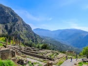 Greece, Delphi, Temple of Apollo