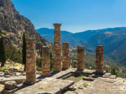 Greece, Delphi, Temple of Apollo