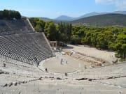 Greece, Tripoli, Theatre in Epidauros