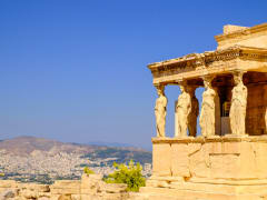 Greece, Athens, Erechtheion Temple