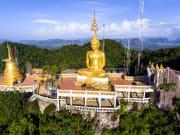 Thailand Krabi Tiger Cave Temple aerial