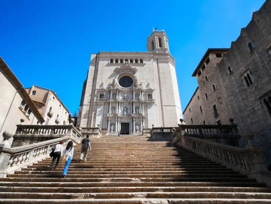 Spain, Catalonia, Girona Cathedral