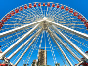 USA_Illinois_Chicago_Old Navy Pier Ferris Wheel