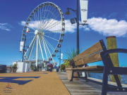 USA_Washington DC_Capital Wheel National Harbor