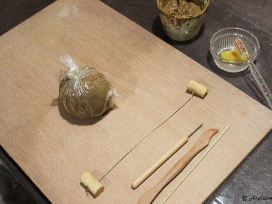 陶器シーサー手順オリジナル01