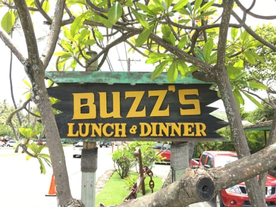 Buss steak house sign