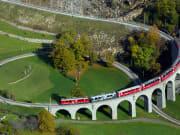 switzerland, italy, bernina express, train