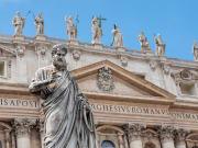 Italy, Vatican, St. Peter's Basilica facade