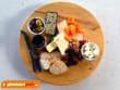 Cheese platter in Bickley Valley, Perth, Australia