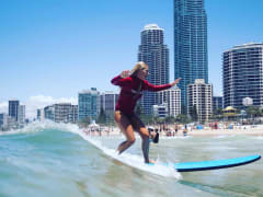 Surfing lessons Australia