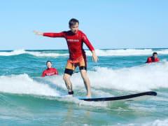 Broadbeach Surfing