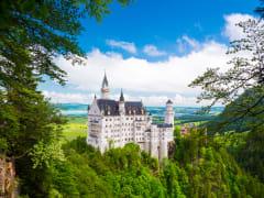 Neuschwanstein Castle, Germany,