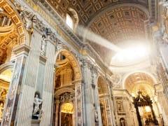 St. Peter's Basilica, interior, Vatican