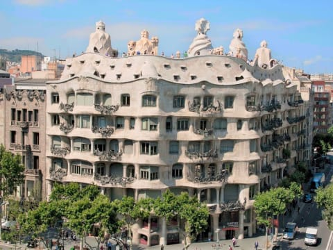 la pedrera casa mila barcelona top attractions barcelona tours activities fun things to. Black Bedroom Furniture Sets. Home Design Ideas