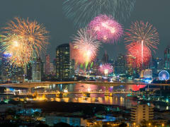 Bangkok New Year's Eve Cruise